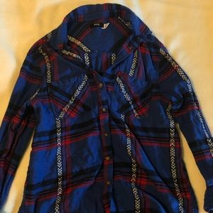 Urban Outfitters Tribal Flannel
